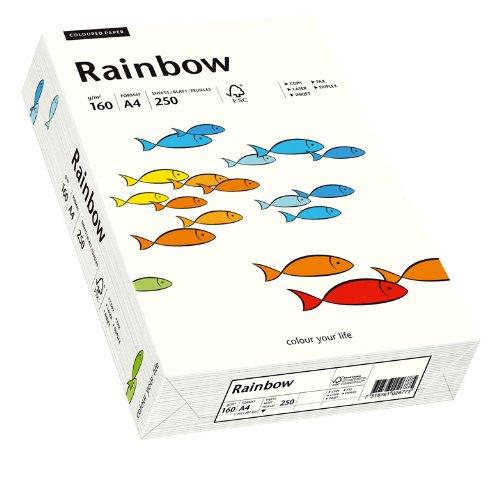 Papyrus 88042234 Druckerpapier Rainbow 160 g/m², A4 250 Blatt naturweiß