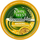 John West Untables 80g Caballa Mostaza (Paquete de 6)
