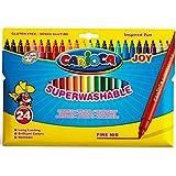 Carioca - Bolsa de cartón con 24 rotuladores (A11100024)