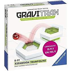 Ravensburger - Gravitrax - Bloc action Trampoline - Jeu de construction - Circuit de billes créatif - Enfants - Dès 8 ans - 27621 - version française
