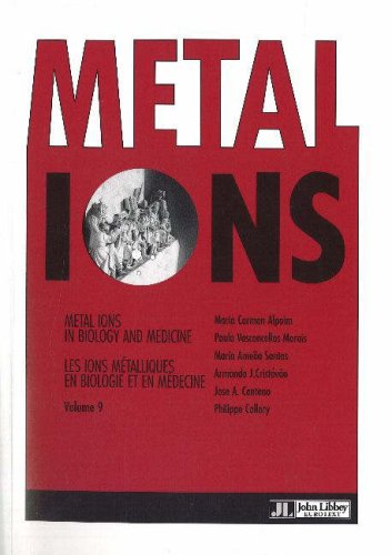 Metal Ions in Biology and Medicine : Tome 9