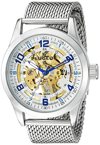 peugeot-mens-1050s-mechanical-skeleton-stainless-steel-analog-hand-wind-silver-tone-watch