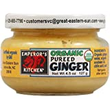 Emperors Kitchen Organic Pureed Ginger -- 4.5 oz by Great Eastern Sun