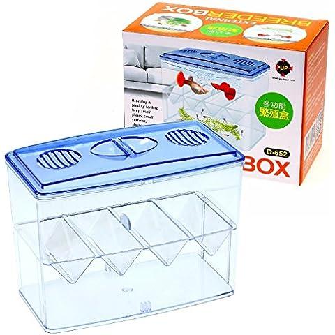 Breeder Box External - Aquarium Bowl Dividers Tank Rearing Display Case by Aquarium Supplies