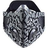 Respro Sportsta - Máscara de ciclismo (talla M), color gris y negro
