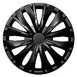 CM DESIGN Optic Schwarz - 16 Zoll, passend für Fast alle VW z.B. für T2 + T3