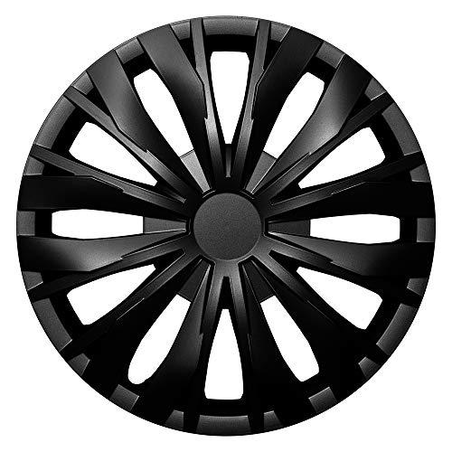 CM DESIGN Optic Schwarz - 14 Zoll, passend für Fast alle Peugeot z.B. für 206 CC