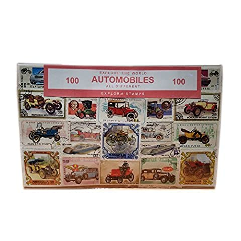 Worldwide Automobile Cars Transport Motor Vehicles Stamps Collection – 100