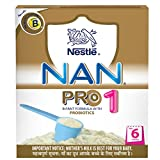 #8: Nestle Nan Pro 1 Starter Infant Formula with Probiotics, Upto 6 months, 400g