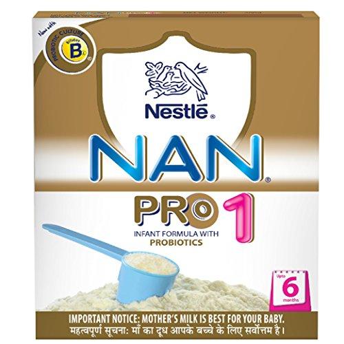 nestlé nan pro 1 starter infant formula with probiotics, upto 6 months, 400g - 516vte27n4L - Nestlé Nan Pro 1 Starter Infant Formula with Probiotics, Upto 6 months, 400g home - 516vte27n4L - Home