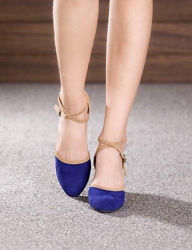 ShangYi Chaussures de danse ( Autre ) - Non Personnalisables - Talon Cubain - Cuir / Cuir Verni - Latine / Jazz fuchsia