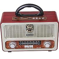 Meier M-111BT Bluetooth USB SD Nostaljik FM/AM Radyo