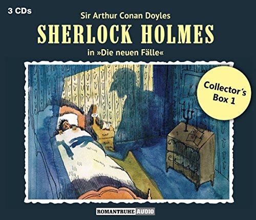 Die Neuen Fälle: Collector's Box 1 (3 CDs) (Sherlock Holmes-box-set)