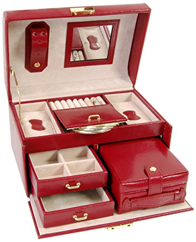 budd-leather-543674-9-large-lizard-print-leather-jewelr-box-with-handle-red