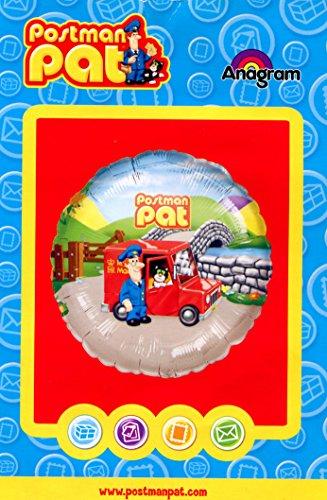 "Image of Helium Foil Balloon 18"" Postman Pat"
