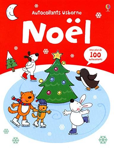 Noël - Autocollants Usborne zvec plus de 100 autocollants
