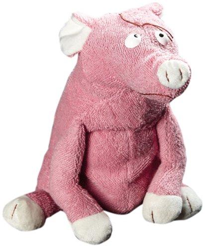 sigikid BEASTS, Kuscheltier für Erwachsene und Kinder, Schwein Karriere Sau, Rosa/Weiß, 38380