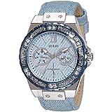 Guess  W0775L1 - Reloj de lujo para mujer, color azul
