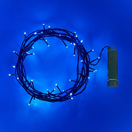 2 x Set Deal of 50 LED Outdoor Battery Operated Fairy Lights by Lights4fun
