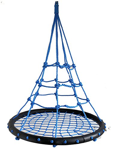 Unbekannt Nestschaukel Spyder Nest Swing Bubble Blue Netzschaukel Kinderschaukel Tragkraft 200 kg - Bubble Swing