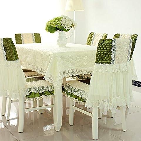 BEEST-Einfache, moderne Rechteckige Tischdecke Tischdecke Kissen Tischdecke Tuch spitze Garten,