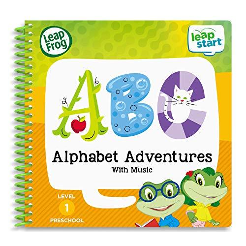 LeapFrog - Livre d'activité pour Enfants LeapStart (français Non Garanti) :Alphabet Adventures.