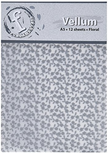 Ruby rock-it-12p-a5 pergamena, motivo floreale