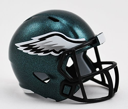 3 Speed Fan-shop (Philadelphia Eagles Riddell Mini-Speed Pocket Pro Micro/Kamerahandys/Football Helm)