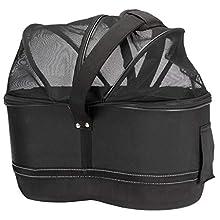 Trixie Bicycle Basket for Narrow Bike Racks, 29 x 42 x 48 Cm, Black, 2.38 kg