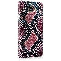 Ruby Rouge & Noir Snake Skin Pattern Coque Housse Etui De Protection Plastique Dur Ligne Profil Slim Pour Samsung Galaxy A5 2016 Hard Plastic Case Cover
