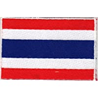Parche con plancha applikation Iron on patches Bandera Tailandia