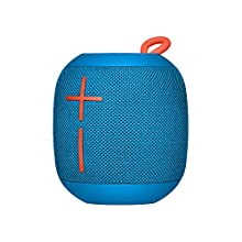 Ultimate Ears Wonderboom Portable Wireless Bluetooth Speaker, 360 ° Surround Sound, Waterproof, 2 Speaker Connection for Powerful Sound, 10h Battery, Blue color