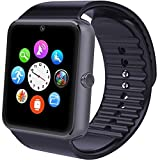 Reloj inteligente Willful smartwatch android con Bluetooth Fitness Tracker con ranura para SIM,...