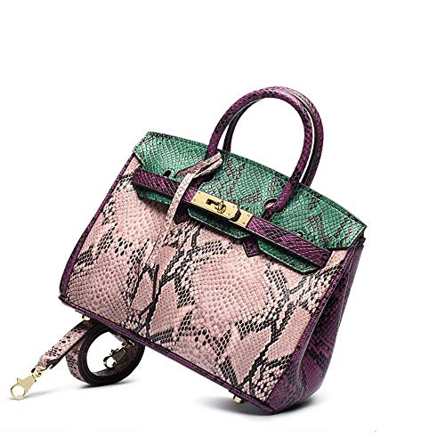 BAG Damen Leder Crocodile Embossed Handtasche Business Crossbody Umhängetasche Frauen - Crocodile Hobo