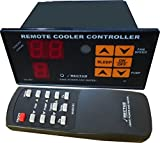 #9: Air Cooler Remote Fan Regulator + Humidity Controller + In-built Temperature Meter + Water Empty Alarm + Sound Alert + ON/OFF Timer and Sleep Mode System - ms421