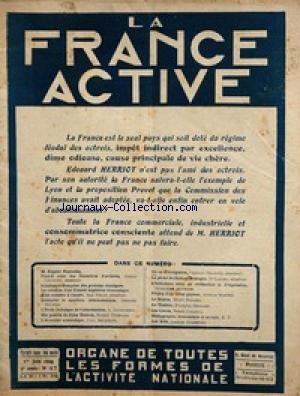 FRANCE ACTIVE (LA) [No 47] du 01/06/1924