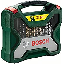 Bosch 2607019327 X-Line Accessory Set, 50 Pieces