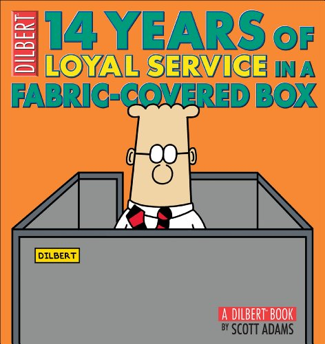 14 Years of Loyal Service in a Fabric-Covered Box (Dilbert Book)