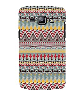 Arrow Pattern Wallpaper 3D Hard Polycarbonate Designer Back Case Cover for Samsung Galaxy J1 (2016) :: Samsung Galaxy J1 (2016) J120H