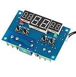 DaoRier XHW1401 DC 9-15V Digitale Temperatur Regler Thermostat Temperaturschalter Sensor -9-99°C 3 Anzeige Modul