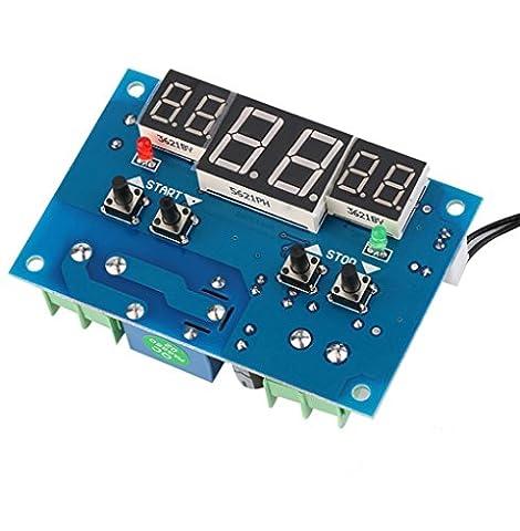 daorier xhw1401DC 9–15V Régulateur de température numérique thermostat interrupteur de température Capteur de 39–99°C affichage