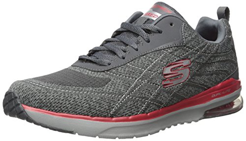 Skechers Skech-air Infinity Herren Outdoor Fitnessschuhe Charcoal/Red