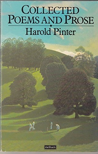Harold Pinter: Collected Poems and Prose by Harold Pinter (1986-04-10)