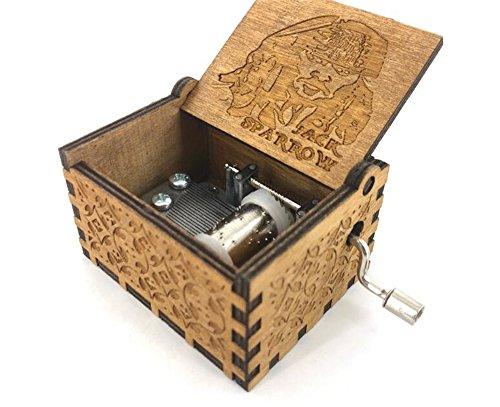 Cuzit – Holzspieluhr, Jack Sparrow aus Fluch der Karibik spielt die Melodie von Davy ()