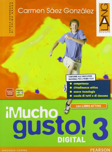 Mucho gusto digitalLIM. Per la Scuola media. Con e-book. Con espansione online. Con libro: 3