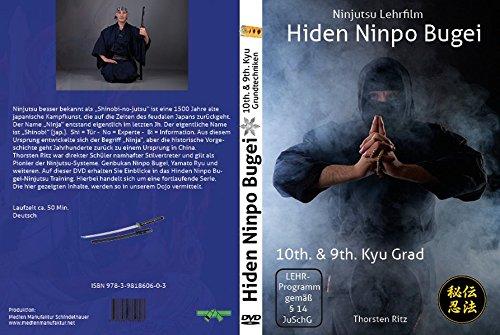 Ninjutsu Lern-DVD Hiden Ninpo Bugei 10th. u. 9th. Kyu: Ninjutsu Lehrfilm (Hiden Ninpo Bugei Vol 1)