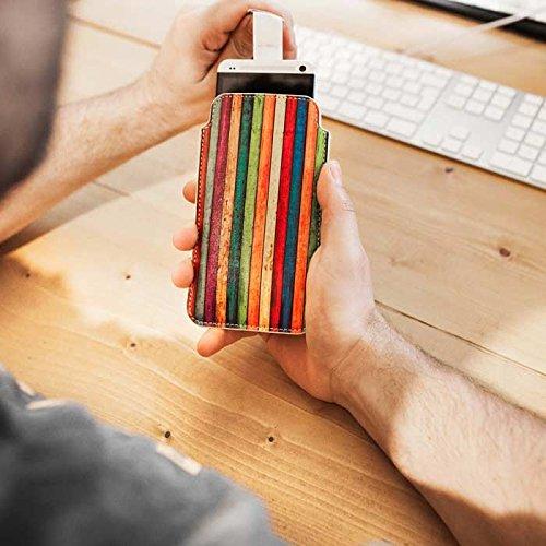 Handytasche / Handyhülle in unterschiedlichen Größen für viele Handys z.B. Samsung Galaxy S7 S6 S5 S4, iPhone 7 6s 6, LG G5 G4 G3, Sony Xperia Z6 Z5 Z4 Z3 & viele weitere Hersteller. Exklusives Design Darkside