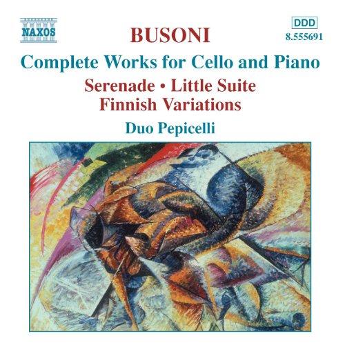 Busoni: Complete Works for Cel...
