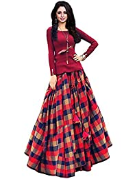 Salwar Suit Sets Style Women's Gown Latest Party Wear Designer Semi Stitched Free Size Salwar Suit Dress Material