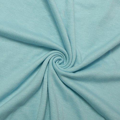SunIfSnow - Chemise - Asymétrique - Uni - Manches Courtes - Femme Bleu